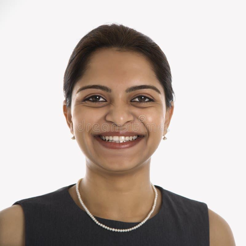 Ritratto della donna indiana. immagine stock libera da diritti