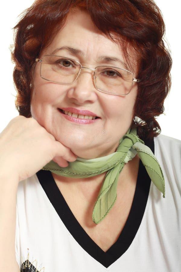 Ritratto della donna matura fotografie stock