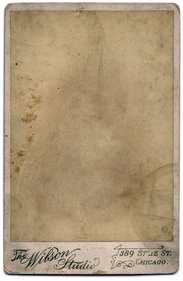 Ritratto della foto dell'annata soppressione fotografia stock