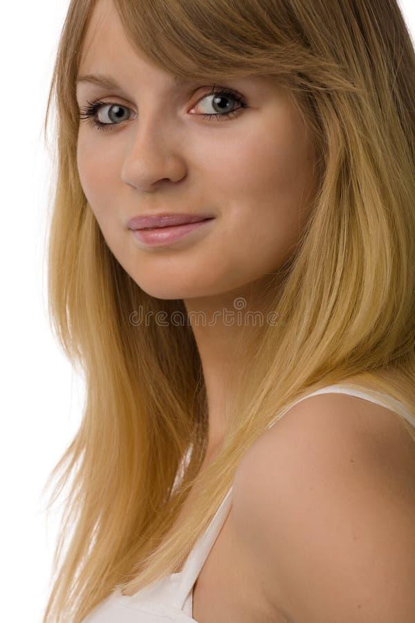 Ritratto della giovane donna immagini stock
