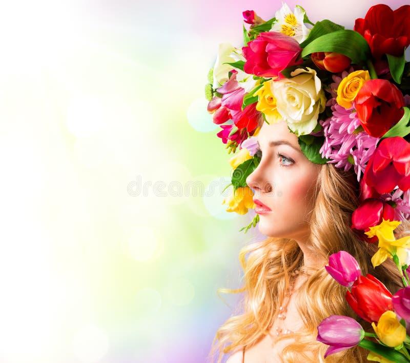 Ritratto della primavera immagine stock