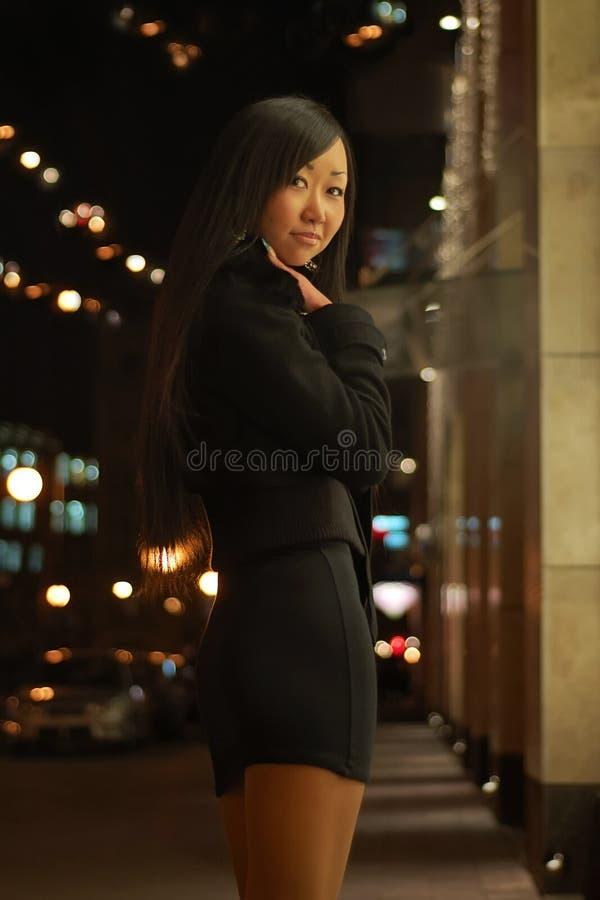 Ritratto della ragazza abbastanza asiatica immagine stock libera da diritti