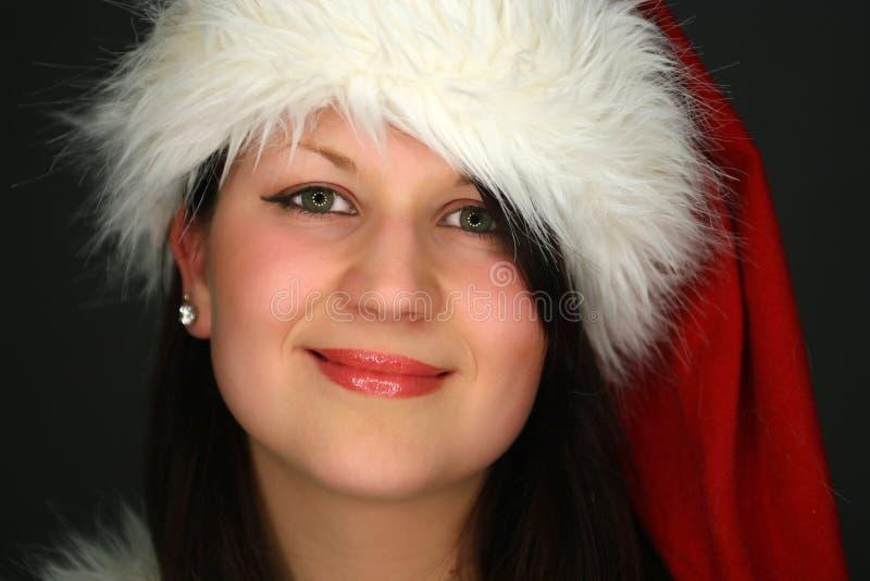 Ritratto della ragazza di Santa immagine stock