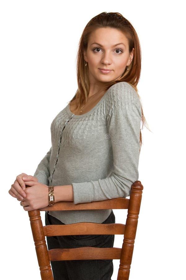 Ritratto della ragazza graziosa. fotografie stock libere da diritti