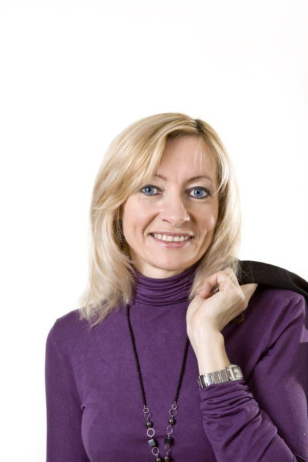 Ritratto della signora di affari fotografia stock libera da diritti