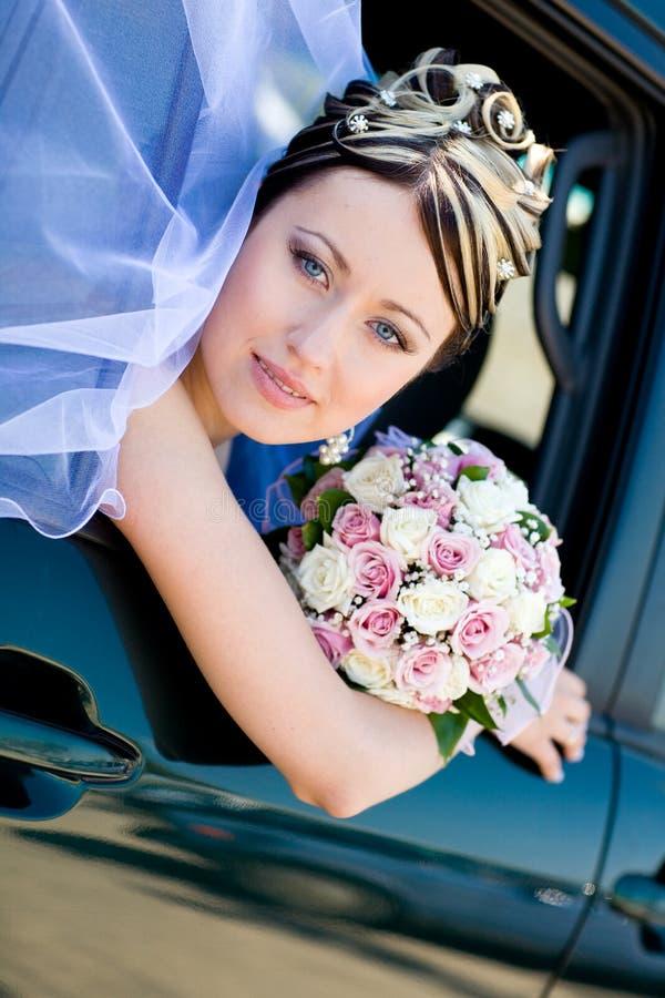 Ritratto della sposa fotografie stock libere da diritti