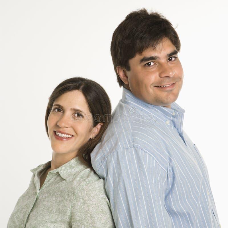 Ritratto delle coppie. immagini stock libere da diritti