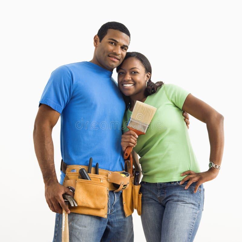 Ritratto delle coppie. fotografia stock libera da diritti