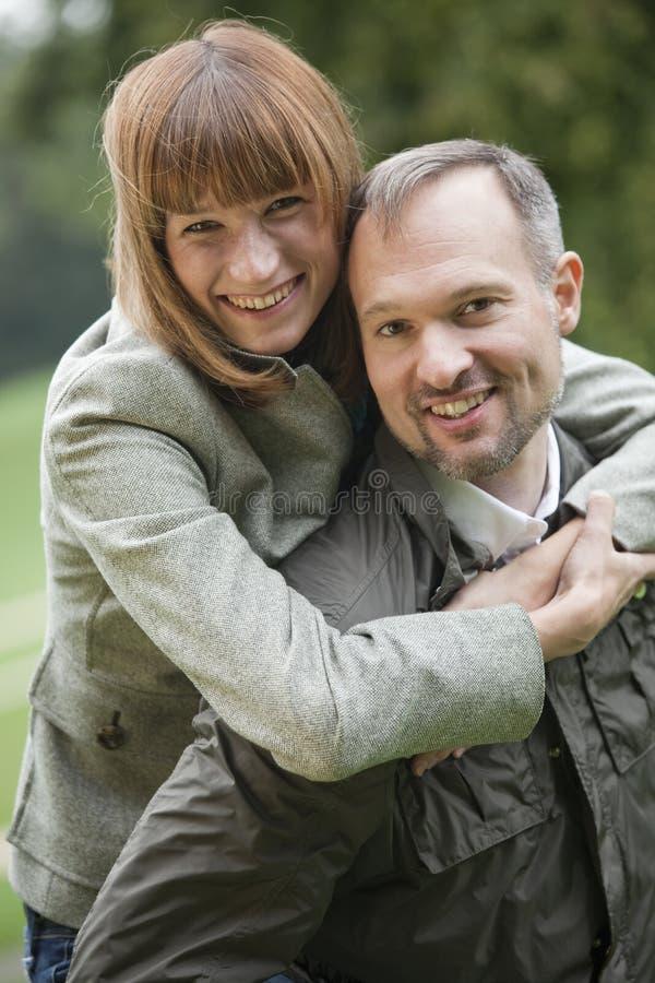 Ritratto delle coppie di amore fotografia stock libera da diritti