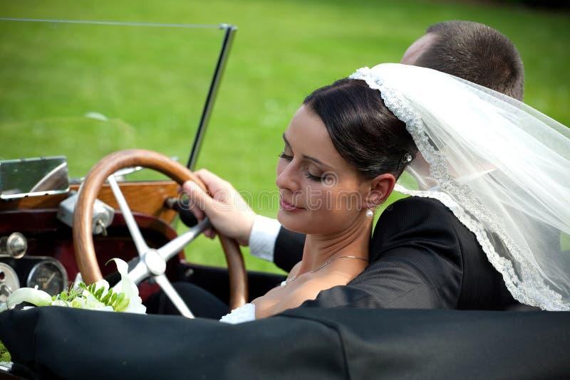 Ritratto delle coppie di cerimonia nuziale fotografie stock libere da diritti