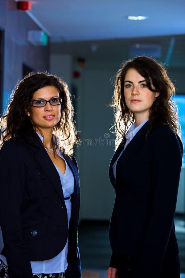 Ritratto delle donne di affari immagini stock