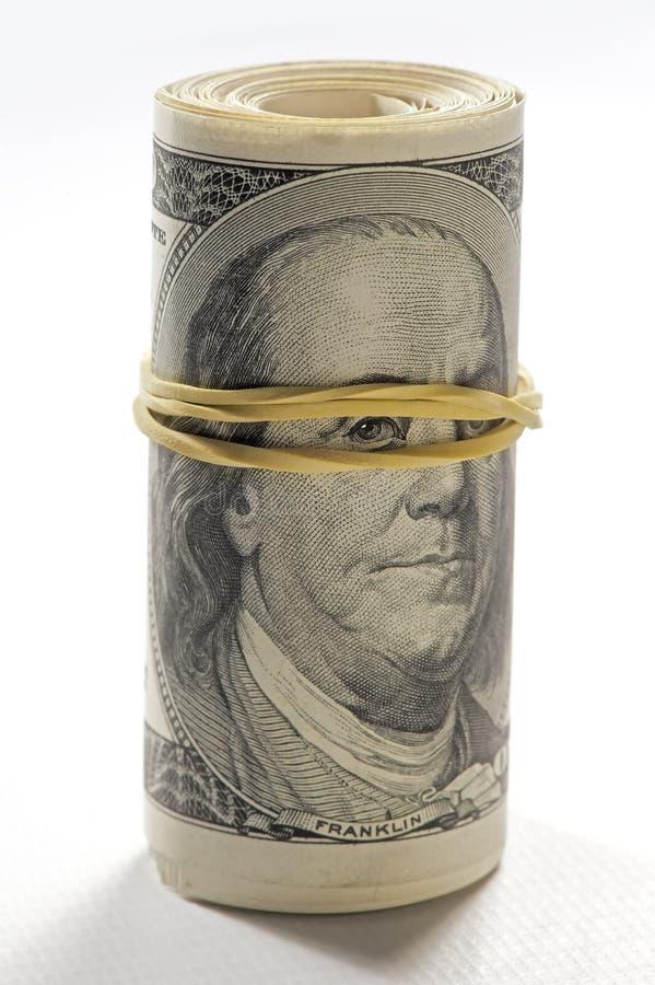 Ritratto delle fatture dello spettatore del Benjamin Franklin fotografie stock