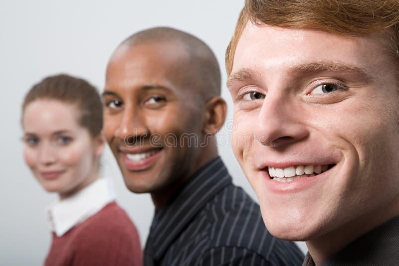 Ritratto delle persone di affari immagine stock