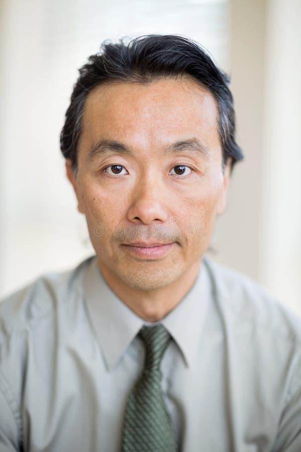 Ritratto dello specialista sicuro del Cancro fotografia stock libera da diritti