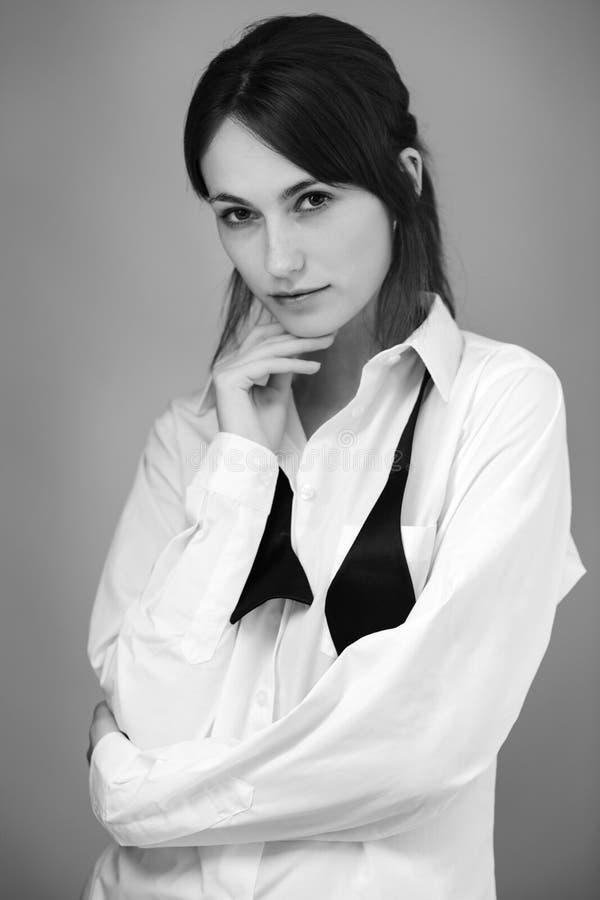 Ritratto dello studio fotografie stock