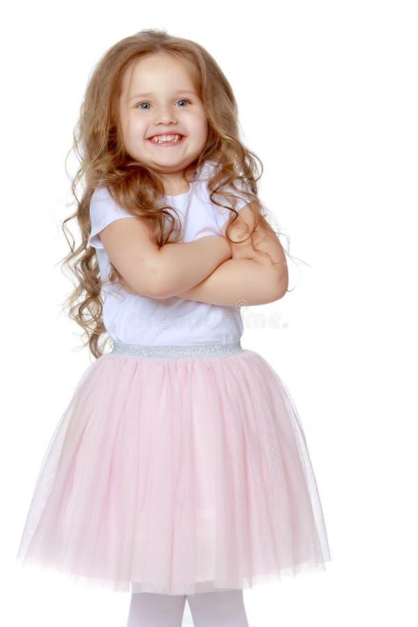 Ritratto di bella bambina immagine stock libera da diritti