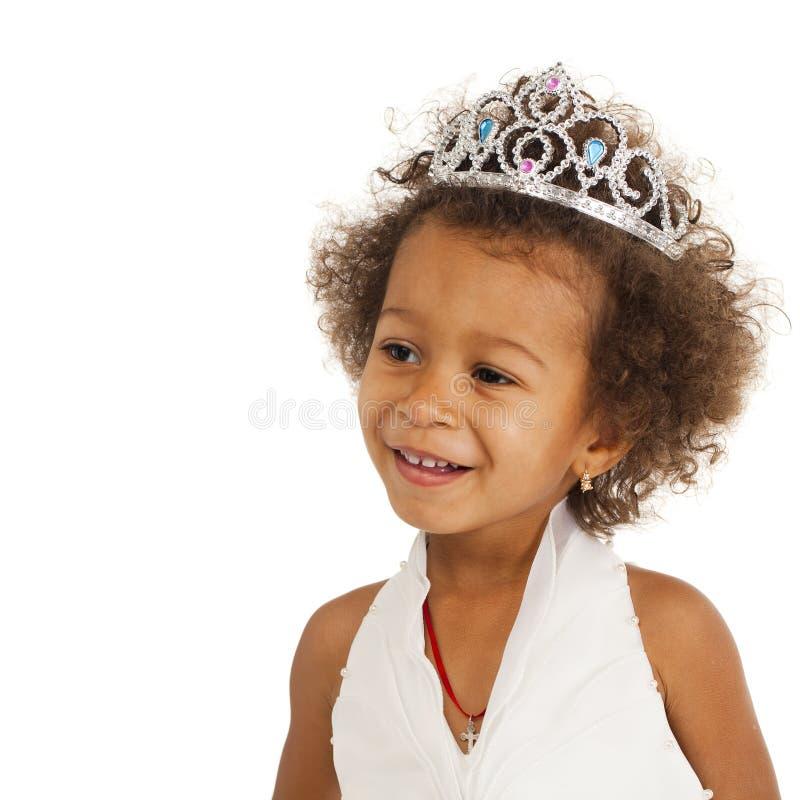 Ritratto di bella bambina felice immagini stock