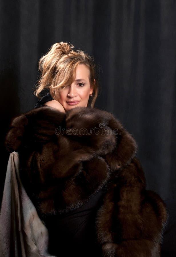 Ritratto di bella donna 4 immagine stock