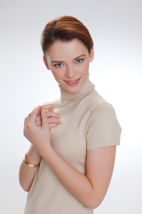 Ritratto di bella donna fotografie stock libere da diritti