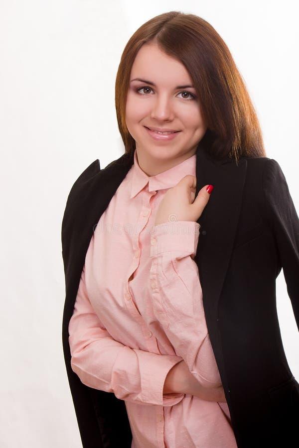 Ritratto di bella giovane donna fotografia stock libera da diritti