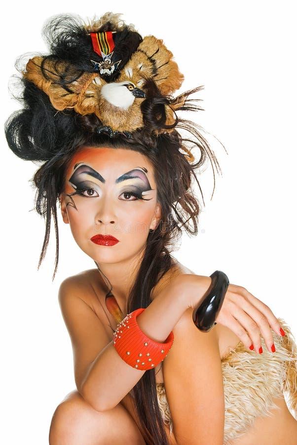 Ritratto di bellezza asiatica immagine stock libera da diritti