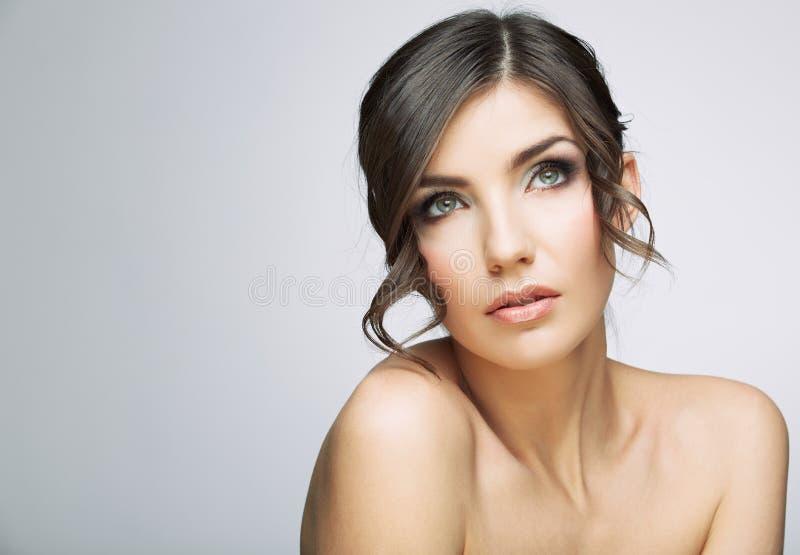 Ritratto di bellezza della donna immagini stock