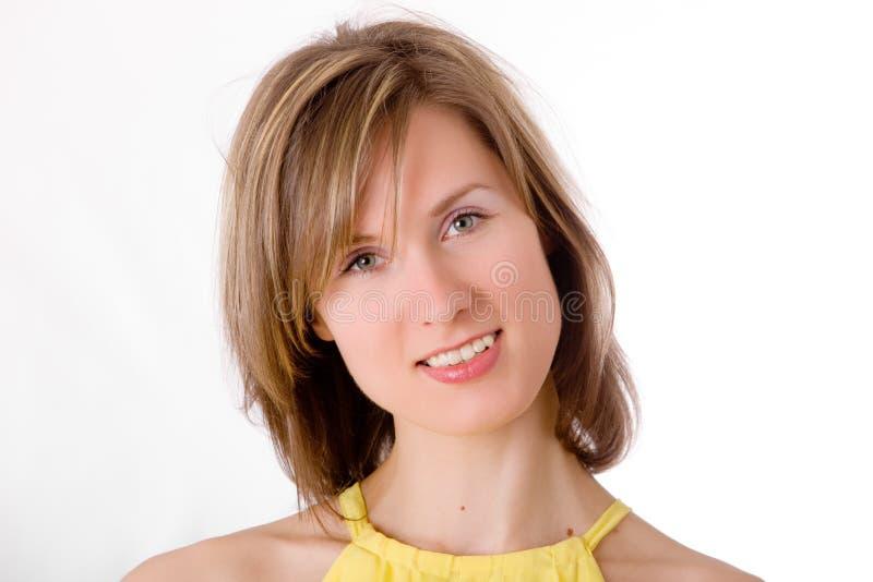 Ritratto di bello blonde fotografie stock libere da diritti