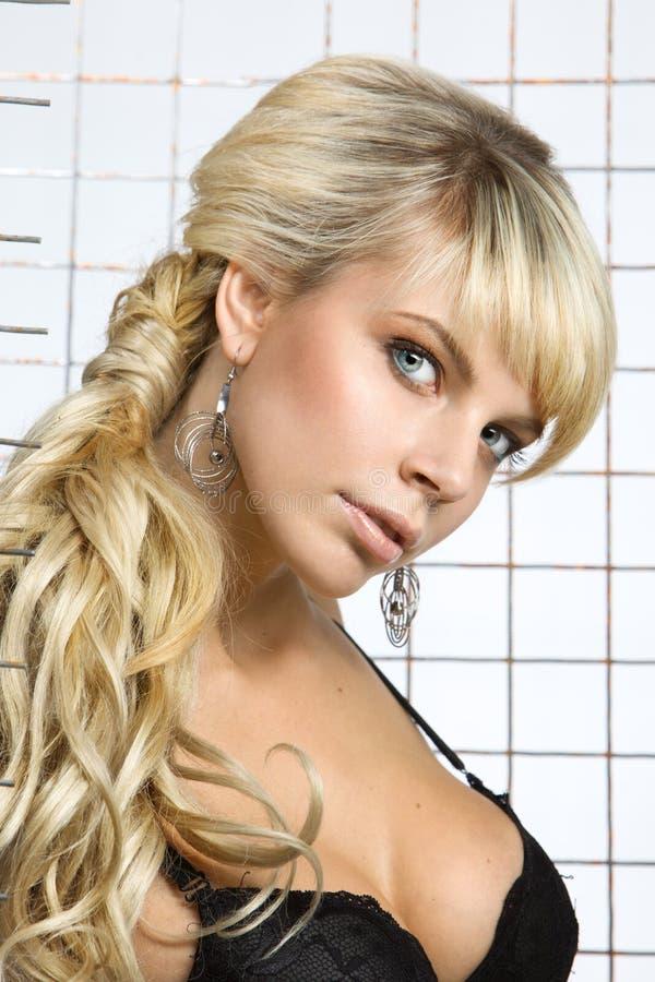 Ritratto di bello blonde fotografia stock libera da diritti