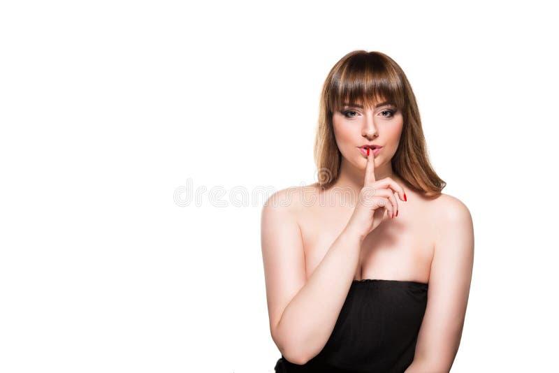 Ritratto di bello modo femminile immagini stock libere da diritti