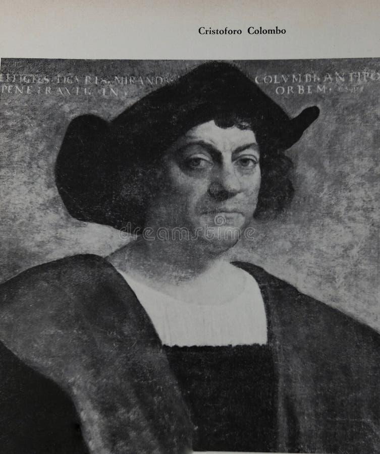 Ritratto di Cristoforo Colombo fotografia stock libera da diritti