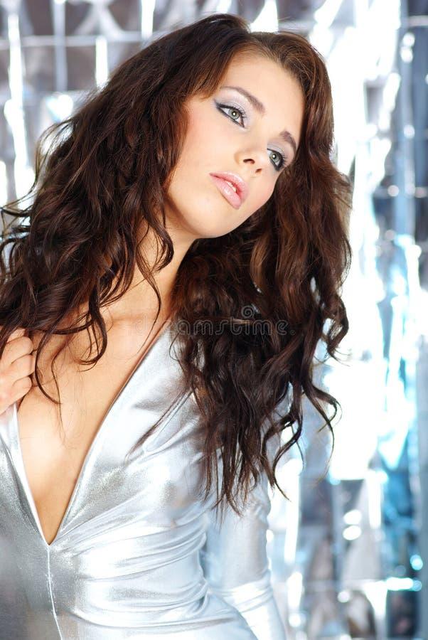 Ritratto di fascino della donna sexy immagine stock libera da diritti