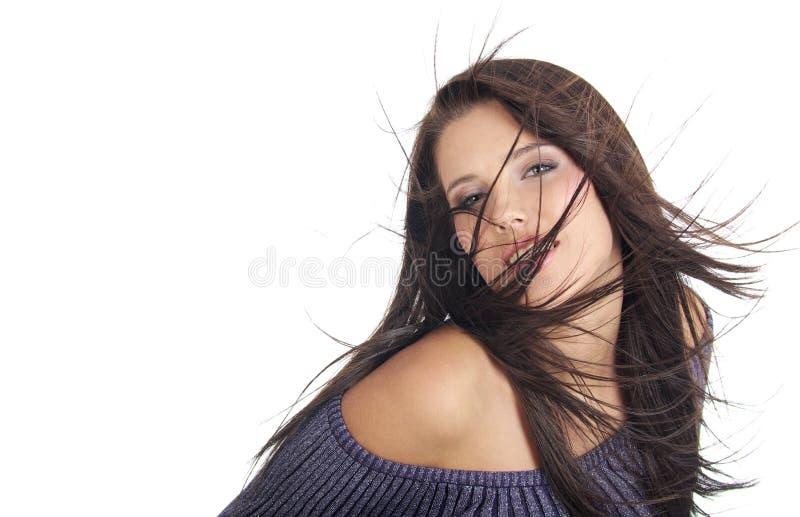 Ritratto di fascino della donna sexy immagini stock