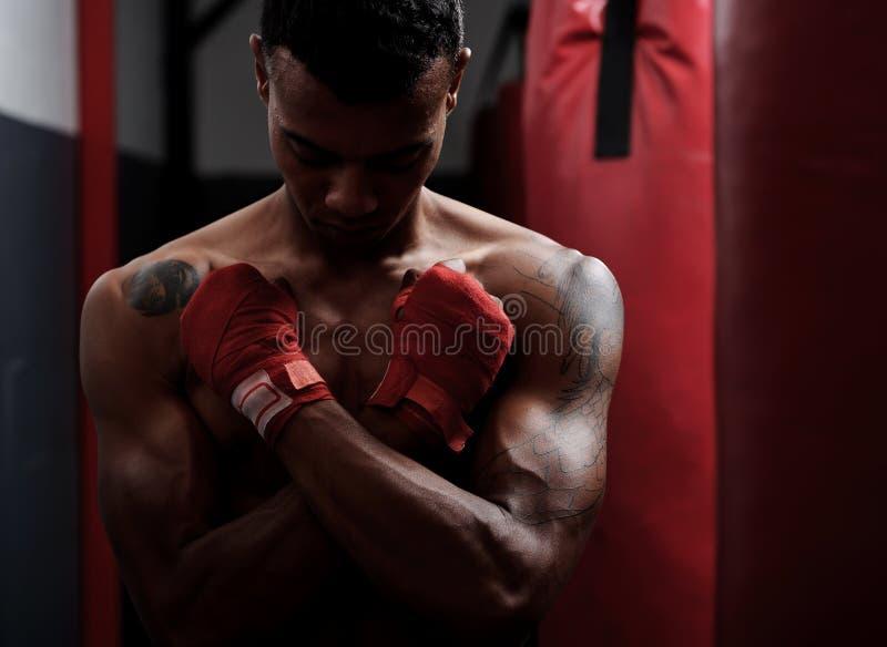 Ritratto di ginnastica fotografia stock libera da diritti