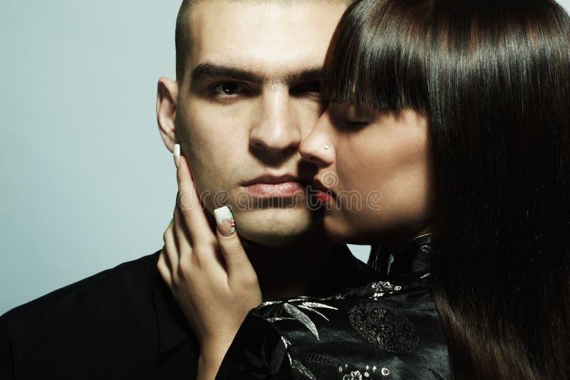Ritratto di giovane bella coppia fotografia stock libera da diritti