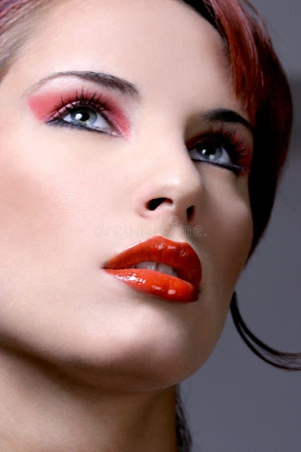 Ritratto di giovane donna sexy fotografia stock