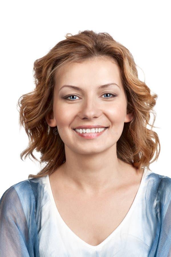 Ritratto di giovane donna sorpresa. immagini stock libere da diritti