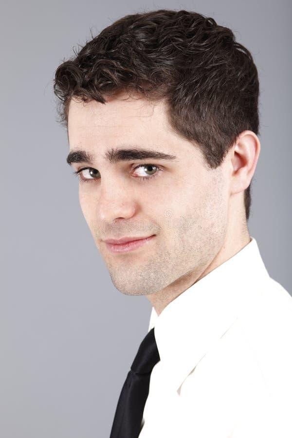Ritratto di giovane maschio. immagine stock libera da diritti