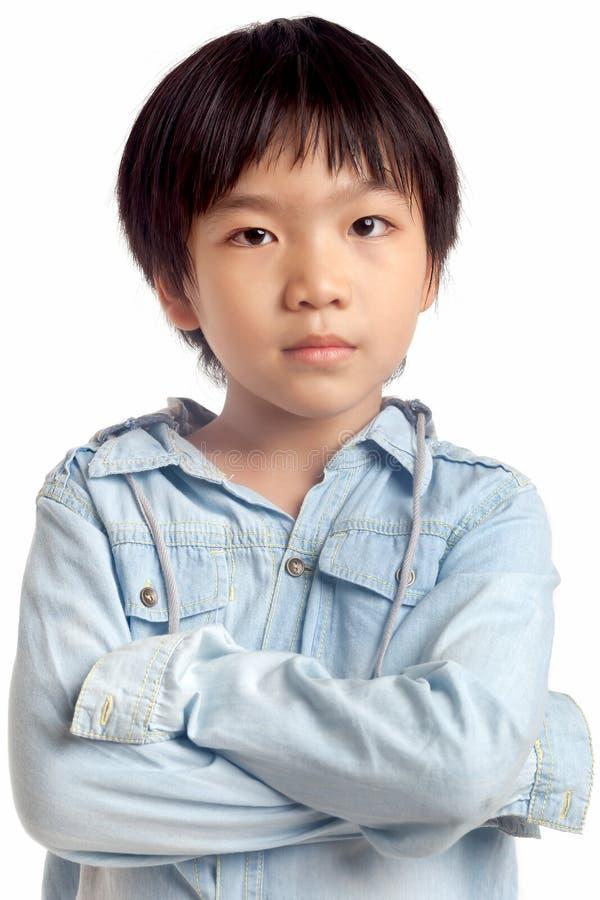 Ritratto di giovane ragazzo immagine stock libera da diritti