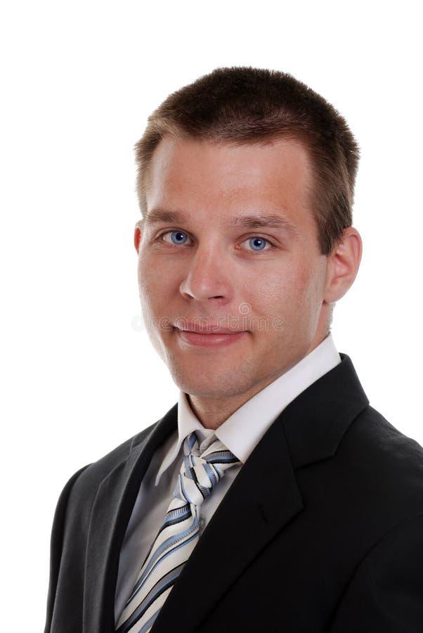 Ritratto di giovane uomo di affari immagine stock libera da diritti