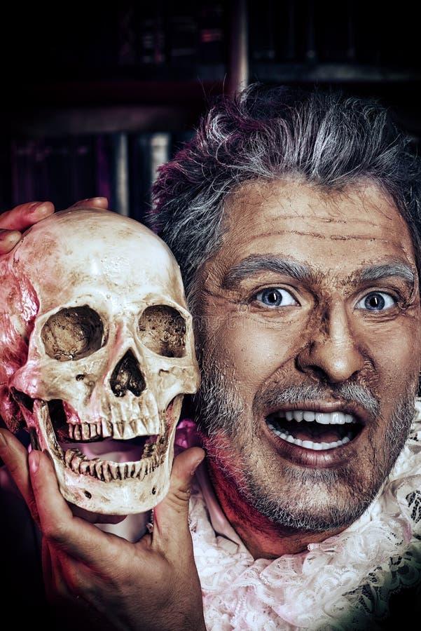 Ritratto di Halloween fotografia stock libera da diritti