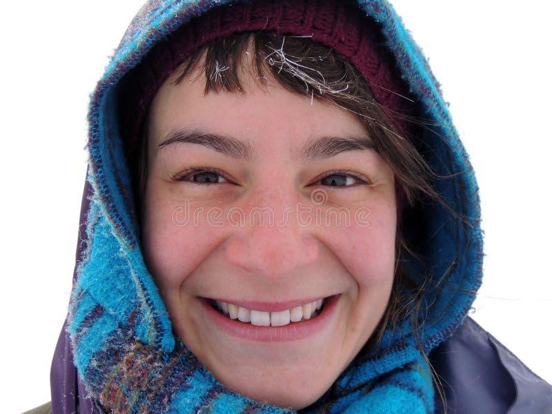 Ritratto di inverno immagini stock libere da diritti