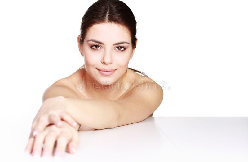 Ritratto di modello di bellezza fotografie stock