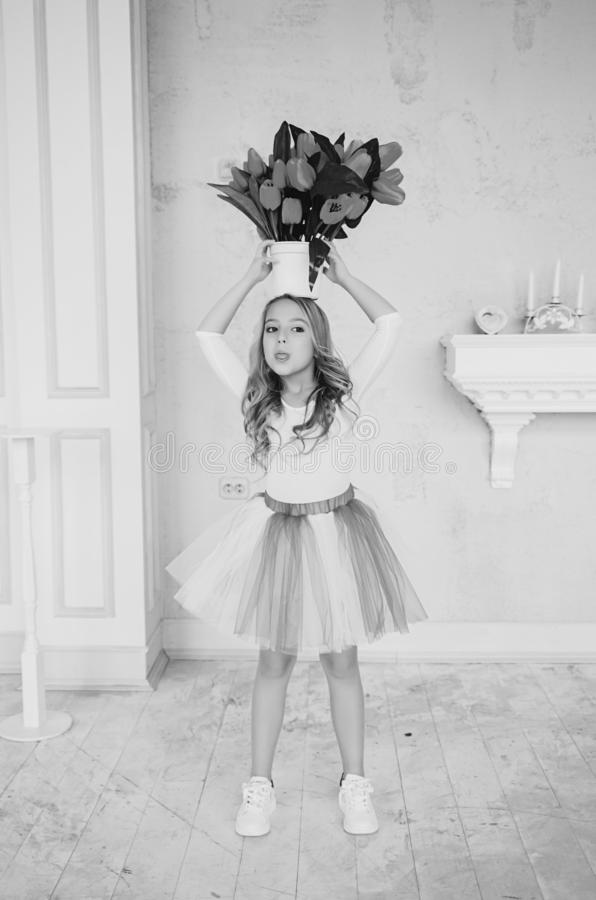Ritratto di piccola ragazza di principessa immagini stock libere da diritti