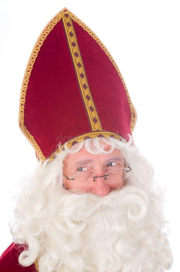 Ritratto di Sinterklaas immagine stock libera da diritti