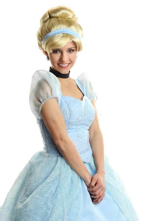 Ritratto di sorridere di principessa fotografia stock libera da diritti