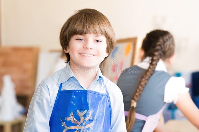 Ritratto di un ragazzo piacevole immagine stock