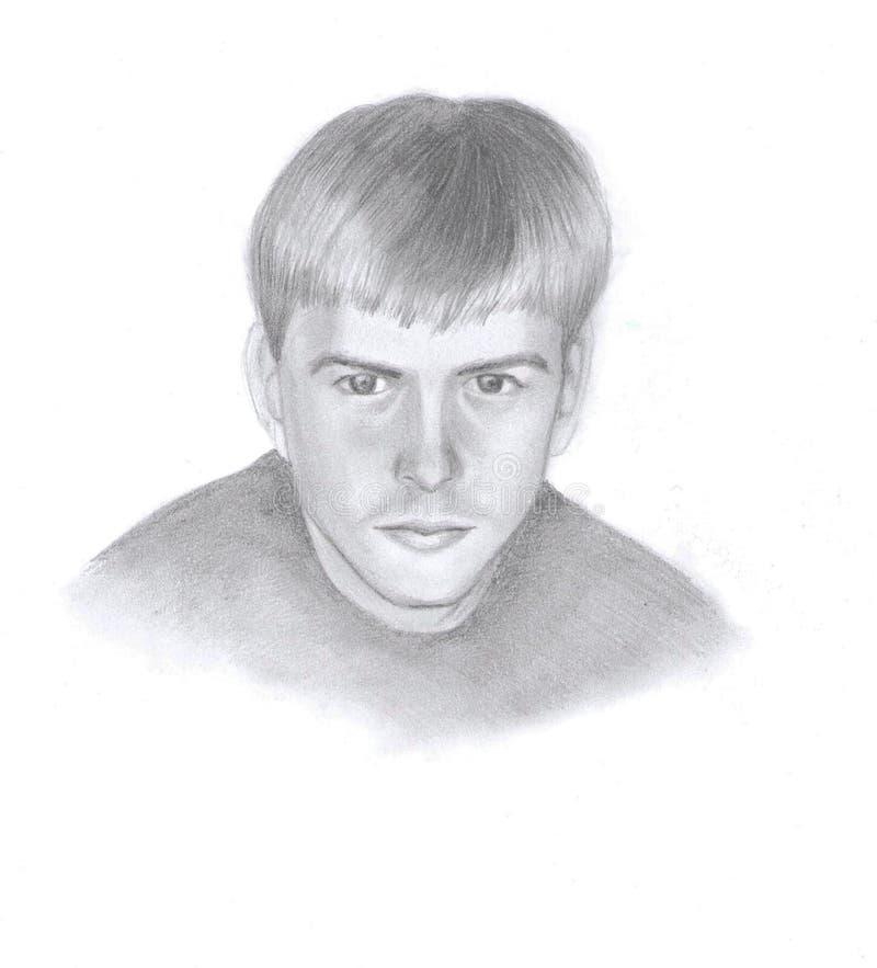 Ritratto di un uomo immagini stock libere da diritti