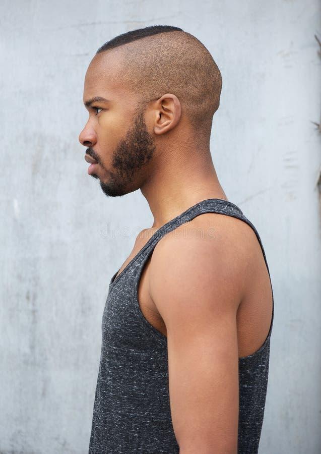 Ritratto di un uomo afroamericano fotografia stock