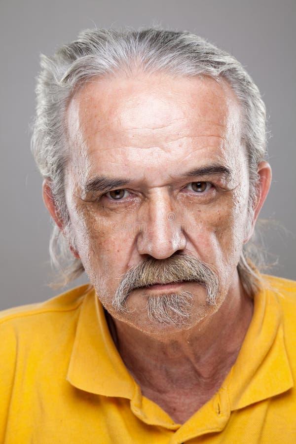 Ritratto di un uomo anziano fotografia stock