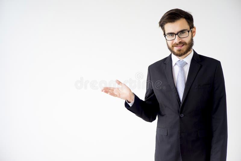 Ritratto di un uomo d'affari immagine stock